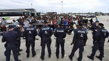 Audio «Flüchtlinge in Europa - Grenzkontrollen aus Hilflosigkeit» abspielen
