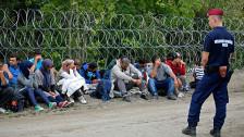 Audio «Mit Tränengas gegen die Flüchtlinge an Ungarns Grenze» abspielen