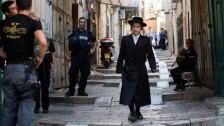 Audio «Die Altstadt von Jerusalem wird zum Sperrgebiet» abspielen
