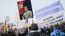 Audio «Pegida-Jubiläum in Dresden: Unwidersprochene Hetzreden» abspielen