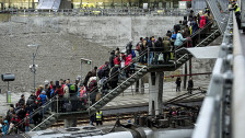 Audio «Flüchtlinge - Schweden gerät an seine Grenzen» abspielen