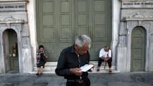 Audio «Rentenkürzung in Griechenland geplant» abspielen