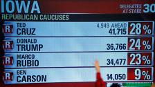 Audio «USA: Unerwartete Ergebnisse bei den Vorwahlen in Iowa» abspielen