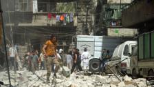 Audio «Rebellenfunktionäre aus dem Syrienkonflikt geben Einblick» abspielen