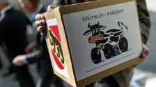 Audio «Milchkuh-Initiative – bauernschlaue Autolobby» abspielen