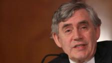 Audio «Gordon Brown: «Ich sehe keinen Brexit voraus»» abspielen