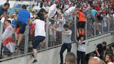 Audio «Fussball-EM: Gelbe Karte für Russland und seine Hooligans» abspielen