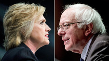 Audio «Bernie Sanders schliesst sich Hillary Clintons Wahlkampf an» abspielen