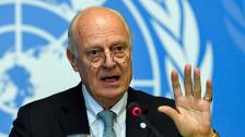 Audio «Dramatischer Appell des UNO-Gesandten für Syrien» abspielen