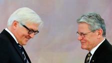 Audio «Bahn frei für Bundespräsident Steinmeier» abspielen