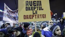 Audio «Rumäniens Regierung gibt nach» abspielen