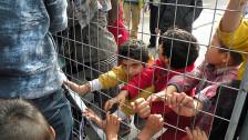 Audio «Flüchtlinge in Griechenland im Hungerstreik» abspielen