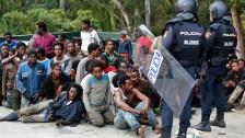 Audio «Grosser Ansturm auf Grenzzaun in Ceuta» abspielen