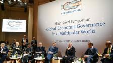 Audio «Entscheidendes Finanzminister-Treffen in Deutschland» abspielen