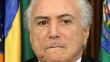 Audio «Brasiliens Regierungschef im Korruptionssumpf» abspielen