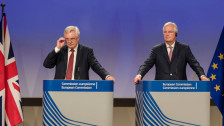 Audio «Brexit-Verhandlungen in Brüssel» abspielen