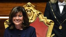 Audio «Italiens Parlament wählt Ratsvorsitzende» abspielen