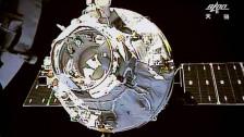 Audio «Weltraumschrott auf dem Weg zur Erde» abspielen