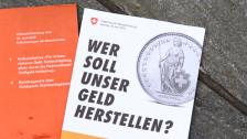 Audio «Klare Abfuhr für Vollgeld-Initiative» abspielen