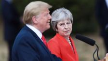 Audio «US-Präsident Trump brüskiert Premierministerin May» abspielen