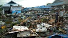 Audio «Schwerer Tsunami auf Sulawesi» abspielen