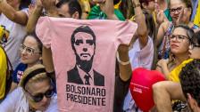 Audio «Rechtsaussen-Kandidat Bolsonaro greift nach der Macht» abspielen