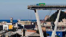 Audio «Kaputte Brücke in Genua soll abgerissen werden» abspielen