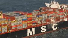 Audio «Suche nach verlorenen Containern in der Nordsee» abspielen