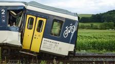Audio «Nach der Frontalkollision zweier Züge in der Westschweiz» abspielen