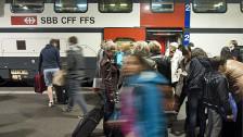 Audio «Die SBB setzt auf mehr Effizienz beim Einstieg im Bahnhof» abspielen
