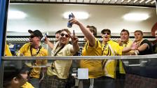 Audio «Bundesrat will Fussball-Fans in Extrazüge zwingen können» abspielen