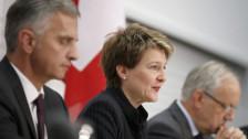 Audio «Drei Bundesräte gegen die Masseneinwanderungs-Initiative» abspielen