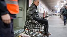 Audio «Behinderte kämpfen immer noch mit Hindernissen» abspielen