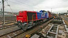Audio «Zweideutige Signale zum Güterverkehr» abspielen