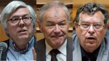 Audio «Toni Bortoluzzi, Andreas Gross und Peter Bieri schauen zurück» abspielen