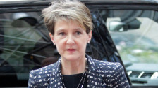 Audio «Terror in Paris: Bundesrätin Sommaruga nimmt Stellung» abspielen