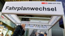 Audio «Was bringt der SBB-Fahrplanwechsel?» abspielen
