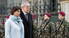 Audio «Staatsempfang für Österreich – vertrauensvoll und spannungsfrei» abspielen