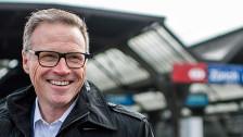 Audio «Im Tagesgespräch: SBB-Chef Andreas Meyer – die Bahn der Zukunft» abspielen