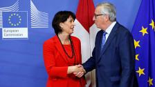 Audio «Schweiz-EU: Hoffnung auf Normalisierung der Beziehungen» abspielen