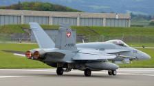 Audio «Die F/A-18-Kampf-Flugzeuge werden «fit» gemacht» abspielen