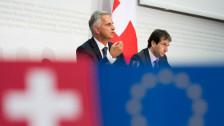 Audio «Schweiz-EU: Bilateraler Weg soll gefestigt werden» abspielen