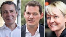 Audio «Das FDP-Trio im Vergleich» abspielen