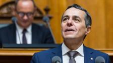 Audio «Ignazio Cassis wird der neue Aussenminister» abspielen