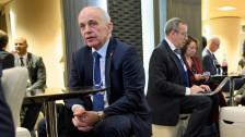Audio «WEF Davos: Ueli Maurer trifft US-Finanzminister» abspielen
