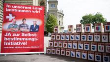 Audio «Schweiz bestimmt frei über völkerrechtliche Verpflichtungen» abspielen
