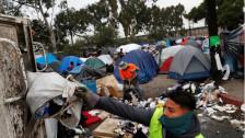 Audio «Überfüllte Flüchtlingscamps in Tijuana» abspielen