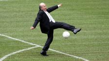 Audio «Fifa-Präsident Sepp Blatter - ein Rückblick in Tönen» abspielen