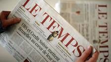 Audio «Westschweizer Kaufpläne für «Le Temps»» abspielen