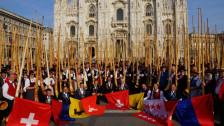 Audio «Alphörner statt Hellebarden in Mailand» abspielen